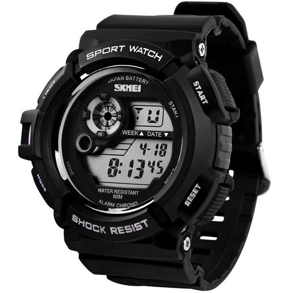 2017 Hot Sale G Style Digital S Shock Military Army Water Resistant Date Calendar LED Sports Mens Watches