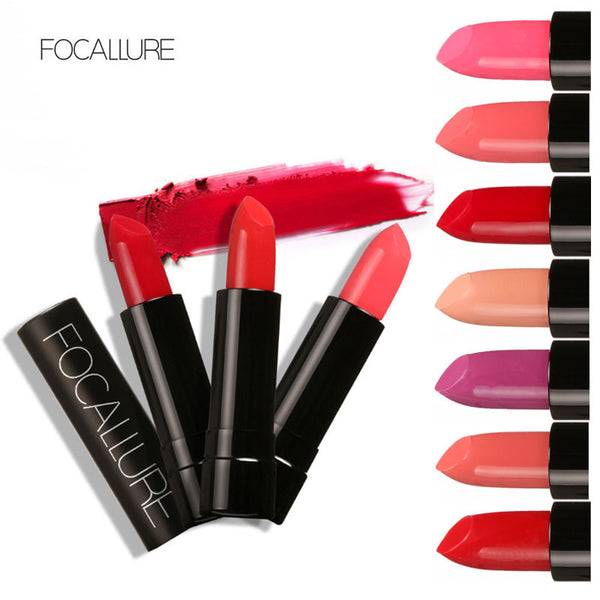 Waterproof Elegant Lipstick Moisturizer Smooth Lip Stick Long Lasting Charming Lip Lipstick Cosmetic Beauty Makeup by Focallure