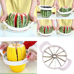 New Arrival Watermelon Cutter Stainless Steel Melon Slicer Fruit Cutter Kitchen Tools Gadgets Kitchen Accessories