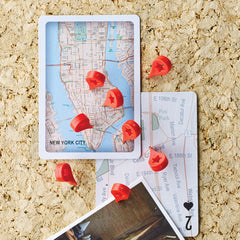 Map Mark Thumbtack Office Binding Supplies Pin 16PCS Cork Wall Nails Photo Wall Studs