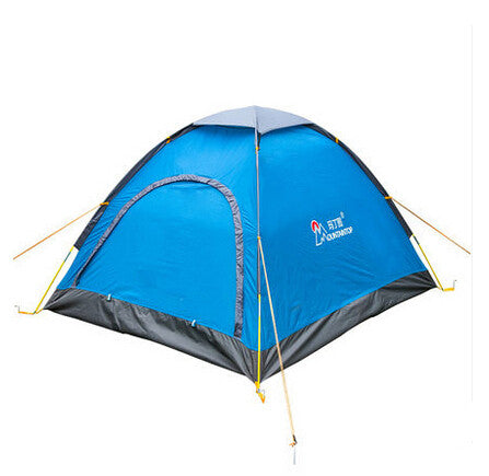 2016 new arrival camping waterproof tents in camping tent 2 person the family tents belt tent pole windproof outdoor equipment