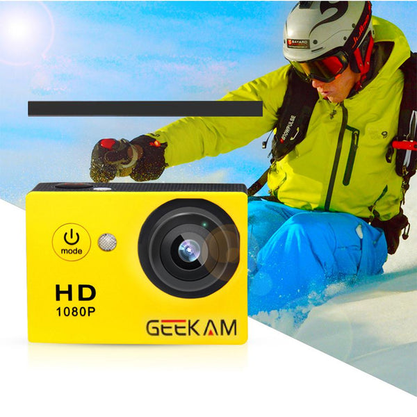 GEEKAM A9 action camera 1080P15fps 720P HD outdoor sports DVR Camcorde pro waterproof go Mini camaras bike video camera