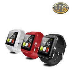 2017 New Fashion Bluetooth U8 Digital Sport Watches for Apple IOS Android Phone Wearable Electronic