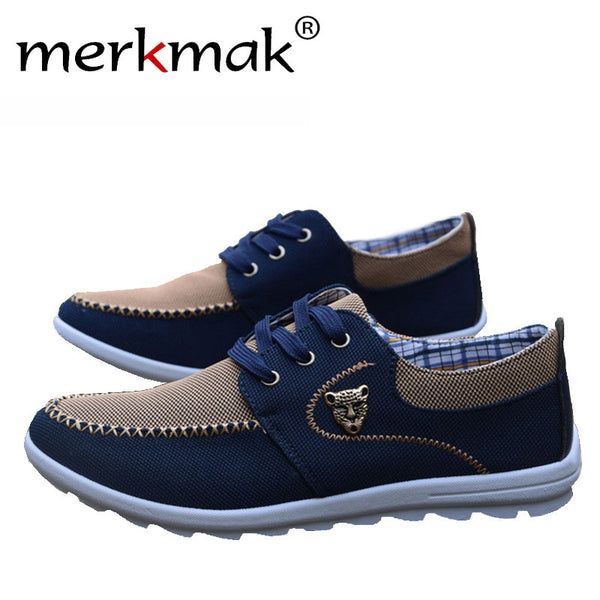 2016 new summer brand canvas casual men's flat shoes matching flat exercise shoes men comfortable tenis boat shoes size 39-44