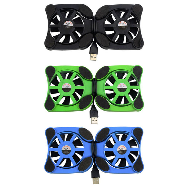 1pcs USB Port Mini Octopus Notebook Fan Cooler Cooling Pad For 7