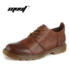 Handmade men's oxford shoes top quality dress shoes men flats shoes fashion men genuine leather shoes