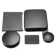 New Arrival Black Camera Kit Housing Lens Cap + Battery Door Replacement + Side Door Cover For GoPro HD Hero 4 Camera