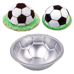 3D Football Molds Aluminum Alloy Cake Baking Pan Cake Molds Bakeware Loaf Pans Cake Decorating Tool HB017Y-52P