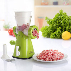 New Best Selling Manual Multifunctional Meat Grinder New Sausage Filling Machine Stainless Steel Knife Meat Grinder for Kitchen