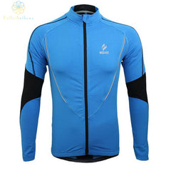 New Arrival Winter Clothing Cycling Running Zip Fleece Mens Long Sleeve Coat Jackets Outdoors Sports Fitness Tights 2016 Thermal Jersey 2017