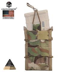EMERSON Single Unit Rifle Tactical Magazine Pouch Multicam Military Army Utility Molle Pouch for M4 / M14 / AK / G3 / G36