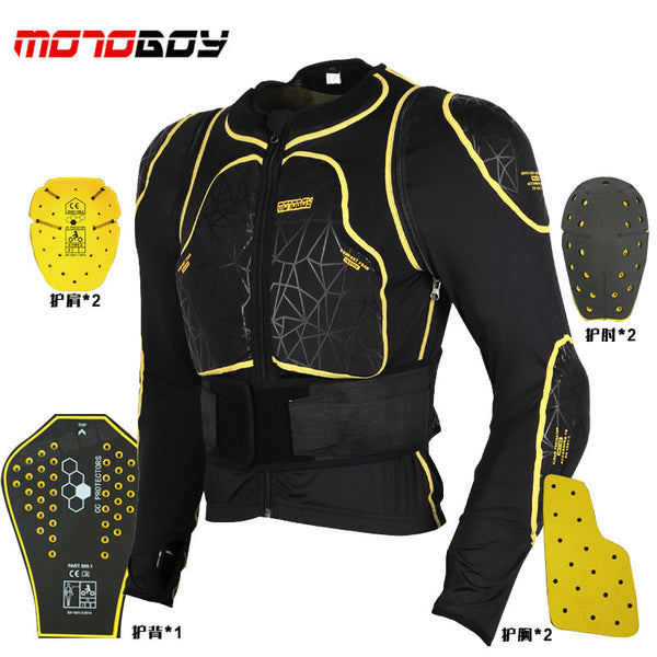 how-yes NEW motoboy Motorcross Racing Motorcycle Body Armor Protective Jacket Gears Short Pants protective Motorcycle Knee Pad