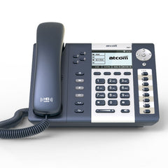 TCOM A41 4 SIP Lines POE Entry-level business Operator's SIP Phone, office Desktop IP phone