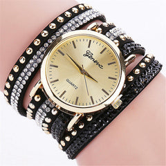New Best Seller Women Casual Quartz Leather Relogio Feminino Bracelet Watch