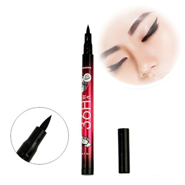 1pc Women Makeup Cosmetic Black Eyeliner Waterproof Liquid Eye Liner Pencil Pen Long Lasting Beauty Tool Drop Shipping Wholesale