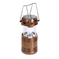 Free shipping New Promotion Tensile Solar LED Lantern Outdoor Lighting Super Bright Rechargeable Hunting Lamp Light H1E1