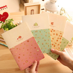 Nice Taste Memory Notepad Cartoon Notebook Journal Diary Memo Writing Pad Stationery Office School Supplies