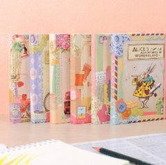 1pcs/lot  New Creative Vintage cartoon series Hardcover notebook/Notepad/Planner/Paper Notebook/Writing Pads