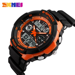 New Hot Sale SKMEI 0931 Luxury Brand S Shock Men Military Sports Digital LED Quartz Wristwatches