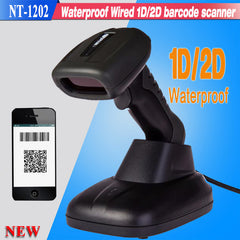 New waterproof 1D,2D wired USB handheld barcode scanner QR Code Barcode Reader For Mobile Payment Computer Screen Scanner