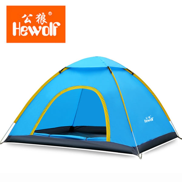 Hewolf Portable Quick Automatic Family Camping Tent for Beach / Outdoor Recreation / Family Party