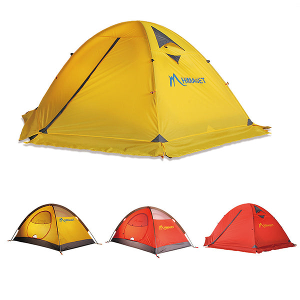 Double Layer 2 Person Winter Tent Windproof Outdoor Camping Tent Family Travel Hiking Climbing Tent