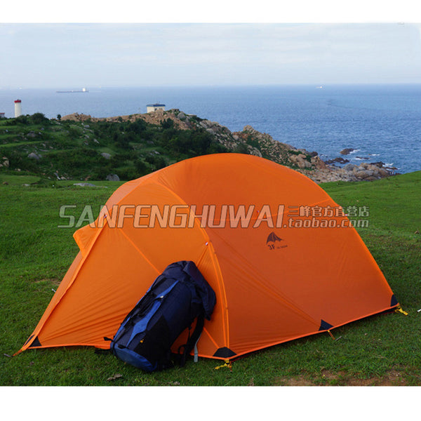 3F UL GEAR Outdoor Ultralight Family Camping Tent 210T 3 Season 3-4 Person Waterproof Wide Lightweigh Journey Tents