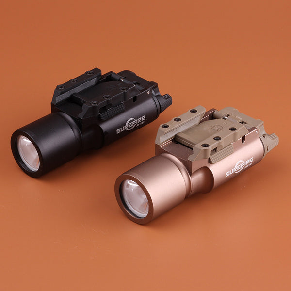 Tactical LED 450 Lumen Pistol M4 Rifle Flashlight X300 Lanterna Ultra Weapon Light for   Hunting for shooting