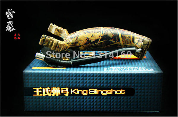 2015 newest model slingshot with the Camouflage thunderstorms heavy bow