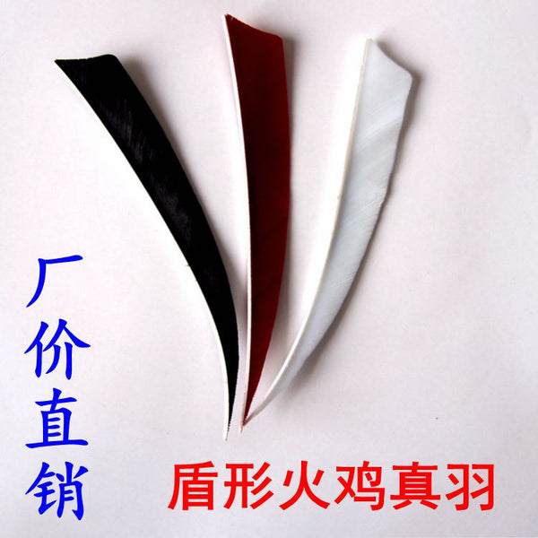 Archery hunting traditional bow arrow feather 5