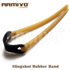 Armiyo 6mm*9mm Elastic Bungee Catapult Rubber Band for Powerful Slingshot Catapult Hunting Shoot Bow Arrow Accessories 5pcs/lot