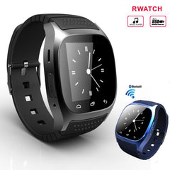 2017 Hot Sale Bluetooth Smart Luxury Wristwatch R Smartwatch with Dial SMS Remind Pedometer for Android Samsung Phone