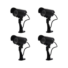 Security Surveillance fake Dummy IR LED cameras - Night/Day Vision Look Bullet CCD CCTV Imitation Dummy Camera Black