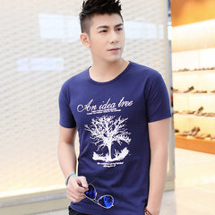 Summer men's clothing men's t-shirt wishing tree short-sleeve T-shirt male short-sleeve t-shirt slim free shipping