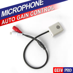 Adjustable Mini Microphone Sound Monitor Audio Pick Up Device CS-04B For Security DVR The CCTV Accessories