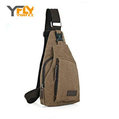 Y-FLY New 2016 Hot Sale Men's Messenger Bags Men Single Shoulder Bag High Canvas Casual Travel Crossbody Chest Bags Bolsa DB5029