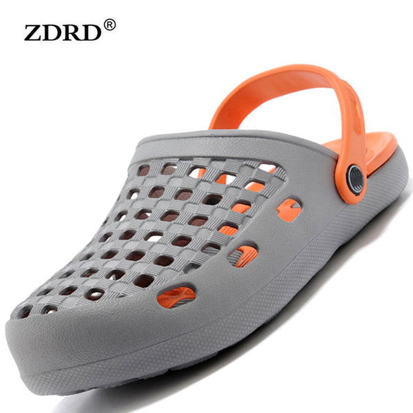 2016 New Arrival Fashion Beach Flipflop Slippers Slides Shoes High Quality Breathable Summer Comfortable Shoes Outdoor Men Clogs