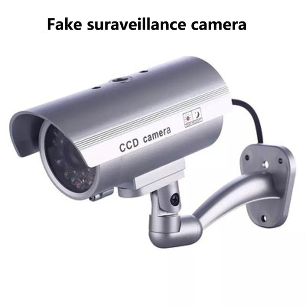 hot Fake Camera Home Security Simulated video Surveillance indoor/outdoor Surveillance Dummy Led Light fake Bullet camera