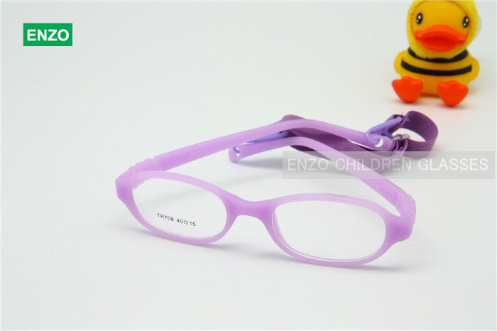 Baby\'s Glasses Frame with Strap & Regular Lenses Size 40/15, No ...