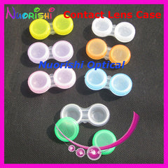 Free Shipping 100pcs good quality  C301  contact lens case  contact lenses case