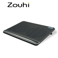 High quality laptop cooling pad 15.6&17inch with 2 big fans,Baffle design with non-slip,Radiator comes with two USB2.0 Interface