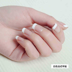 500 Pcs French False Acrylic Nail Art Tips White Decoration Manicure UV False Nails Gel New