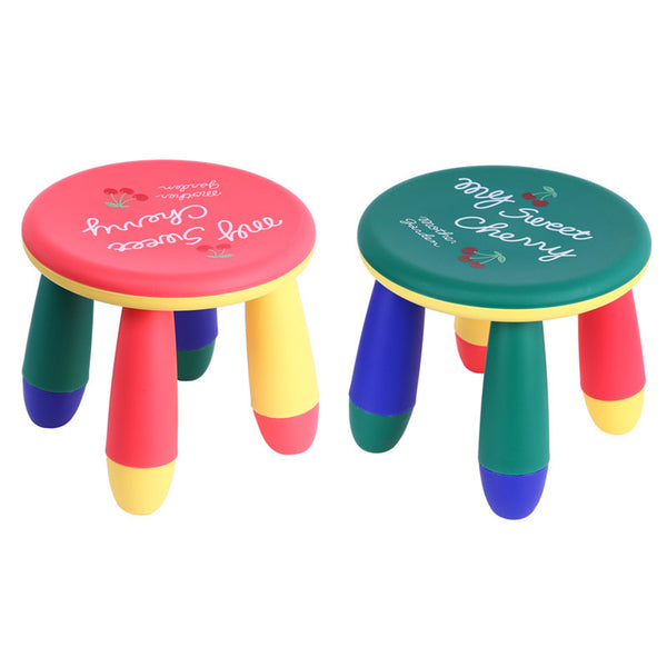 Colorful Cute Baby Round Assembly Table Stool Creativity Children Small Chair Environmental Scentless Short Pier Bench Seat