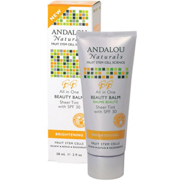 Andalou Naturals - Beauty Balm Sheer Tint Spf 30 ( 1 - 2 OZ): Beauty Balm Sheer Tint Spf 30