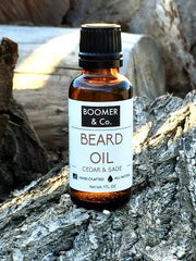 Case Pack of 8 - Cedar & Sage Beard Oil: Cedar & Sage Beard Oil