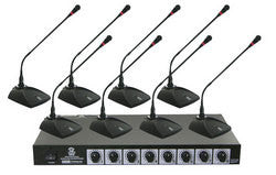 Pyle Professional conference Desktop VHF Wireless Microphone System: Professional conference Desktop VHF Wireless Microphone System