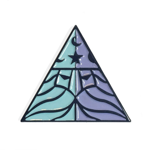 Literally Wizards Enamel Pin