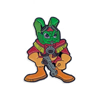 Bucky O'Hare Action Figure Enamel Pin
