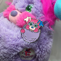 Popples Pretty Bit Enamel Pin