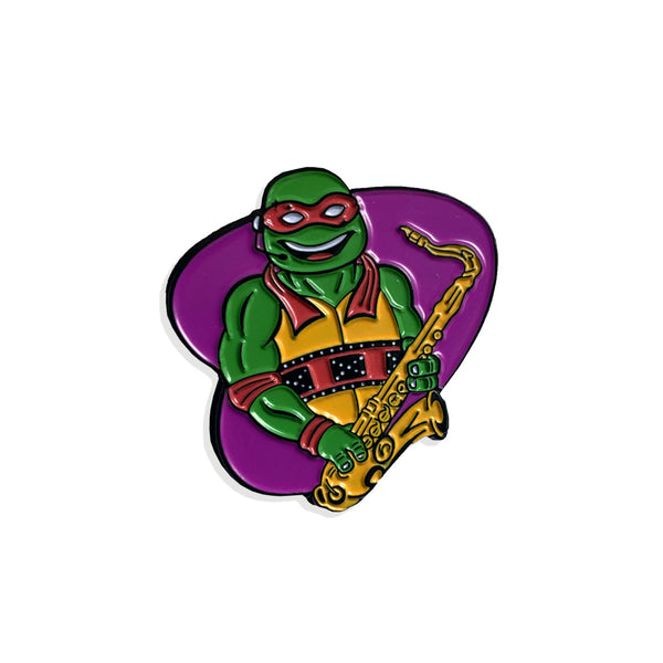 TMNT Coming Out of Their Shells Raphael Enamel Pin